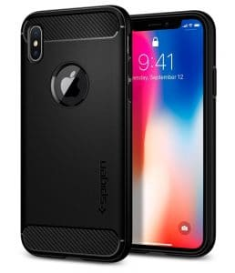Spigen rugged armor Iphone X case